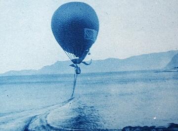 Őrnen, balón Andréeovy výpravy