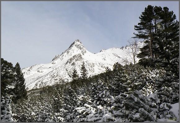 Vysoké Tatry. V Mengušovské dolině