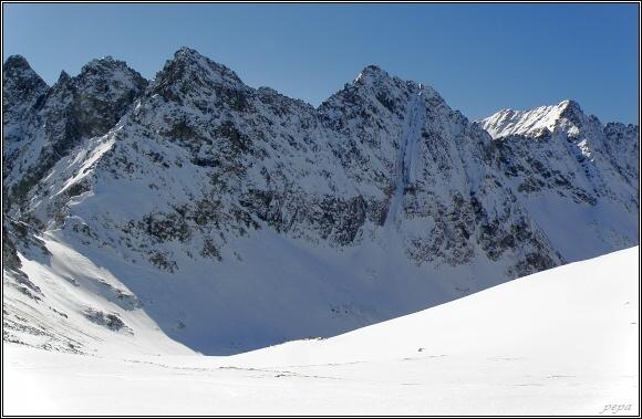 Hlinská dolina z Kôprovského sedla