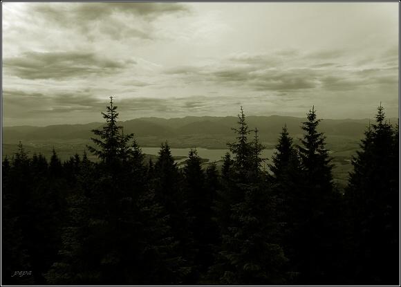 Chočské vrchy, Liptov z Prosečného