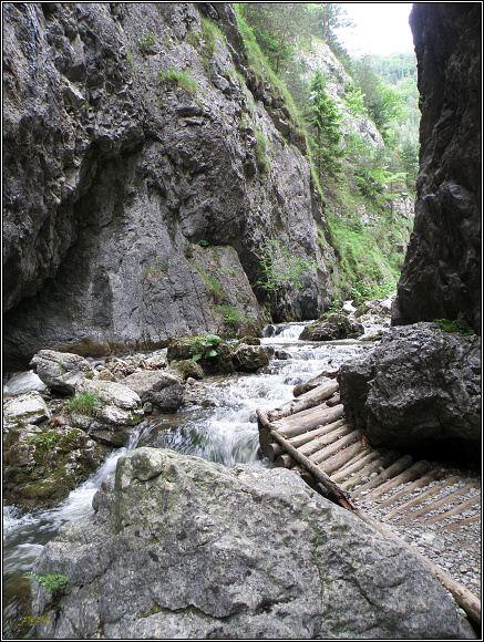 Chočské vrchy, Prosiecka dolina