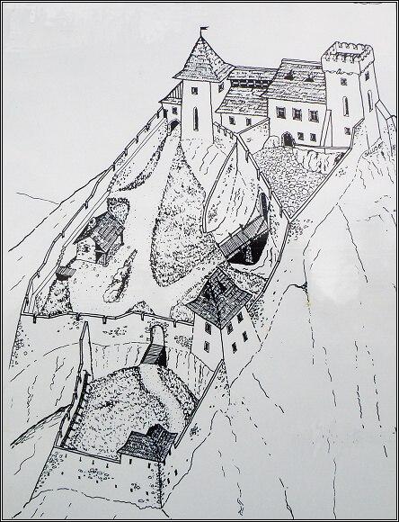 Rekonstrukce původní podoby Liptovského hradu