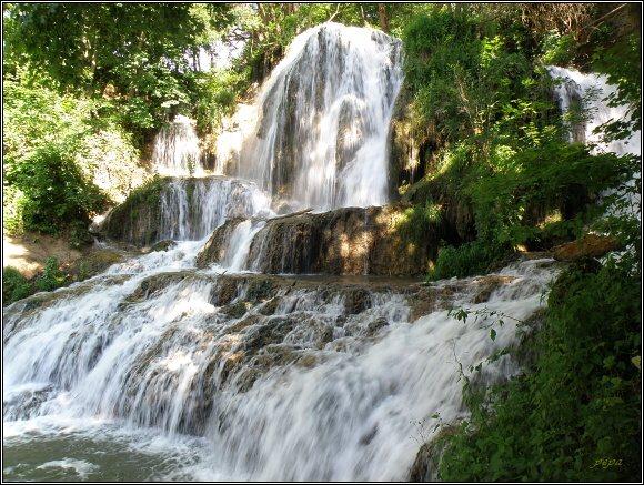 Chočské vrchy, Lúčky, vodopád