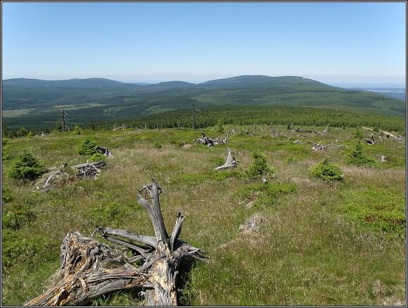 Jizerské hory od Wysoke Kopy