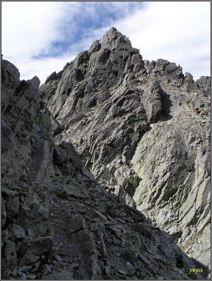 Posledná veža z Lomnickej vežičky