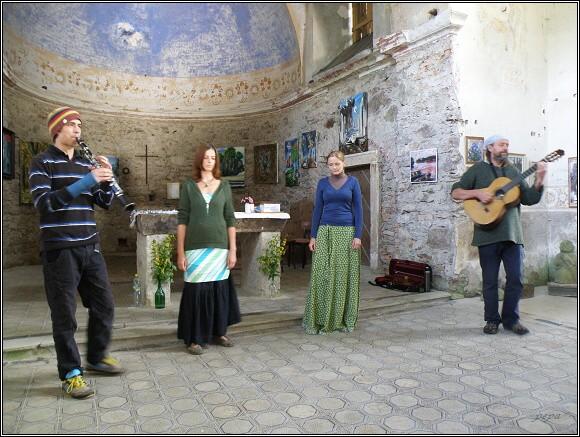 Oldřich Janota a Ora pro nobis v kostele sv. Jana Nepomuckého ve Vrchní Orlici