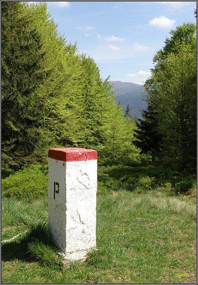 Oravské Beskydy. Pohled od Modrálovej k Babej hore