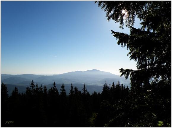 Oravské Beskydy. Babia hora z Pilska
