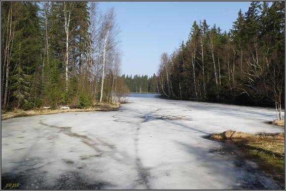 Slavkovský les. Kladská rašeliniště - Kladský rybník