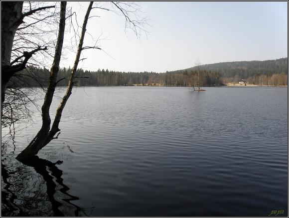 Slavkovský les. Na naučné stezce Kladská
