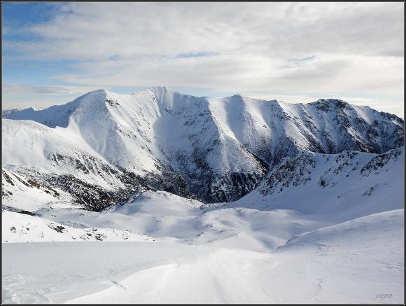 Jamnická dolina ze Žiarského sedla