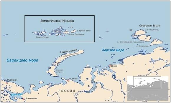 Barentsovo moře a Země Františka Josefa