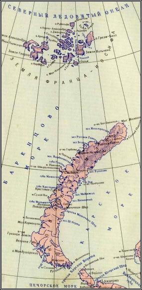 Nová země a Země Františka Josefa