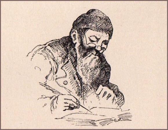 Carlsen píše deník /Julius Payer/