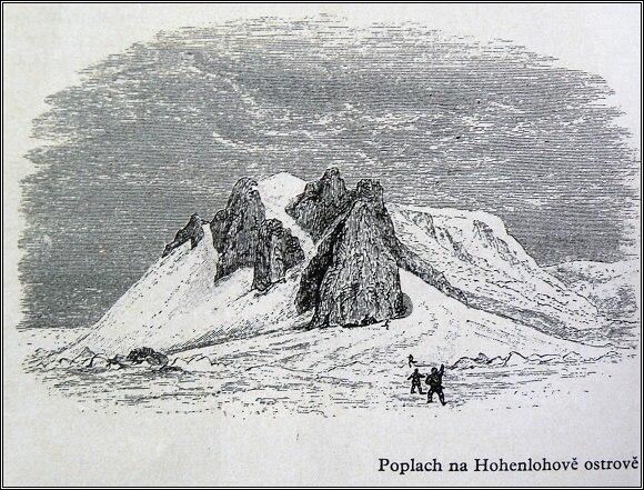 Poplach na Hohenlohově ostrově /Payer/