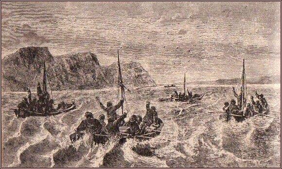 Spatřili jsme člun /Julius Payer/
