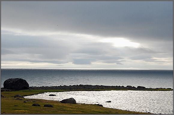 Země Františka Josefa. Northbrookův ostrov, mys Flora