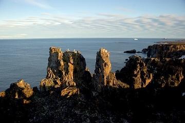 Země Františka Josefa. Wilczkův ostrov