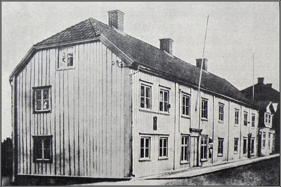 Rodný dům Salomona A. Andréeho v Gränna
