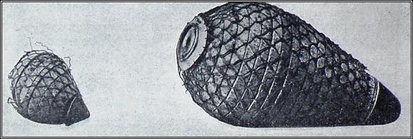 Plovatky použité posádkou Őrnenu