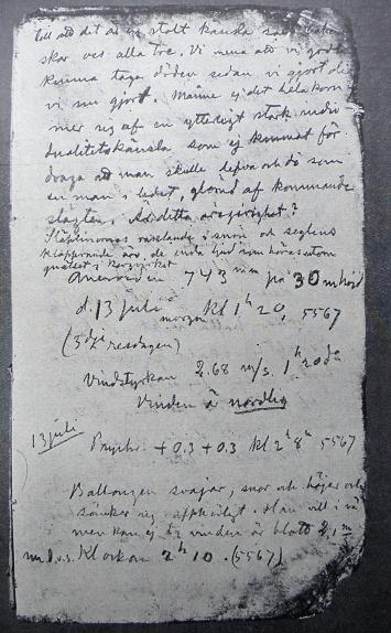 List Andréeova deníku