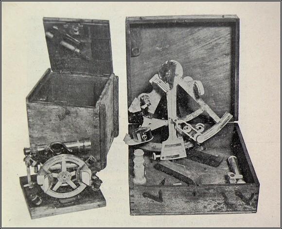 Strindbergovy přístroje pro astronomické určení polohy