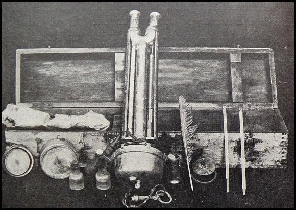 Fraenkelovy přístroje pro měření vlhkosti vzduchu