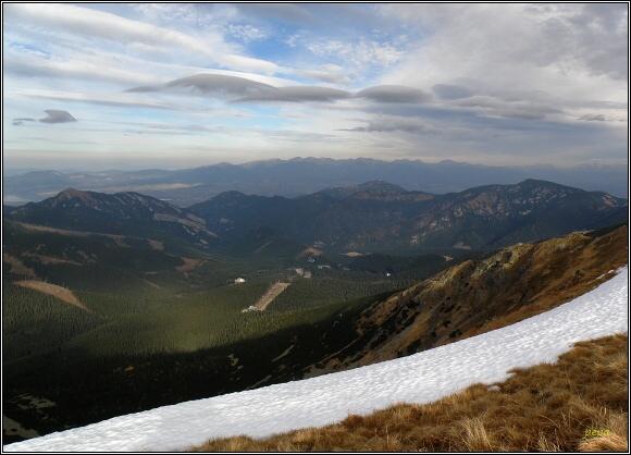 Nízké Tatry. Nad Jasnou