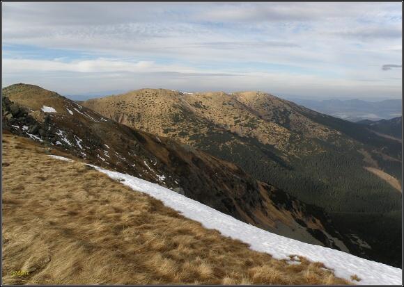 Nízké Tatry. Zákľuky a Bôr