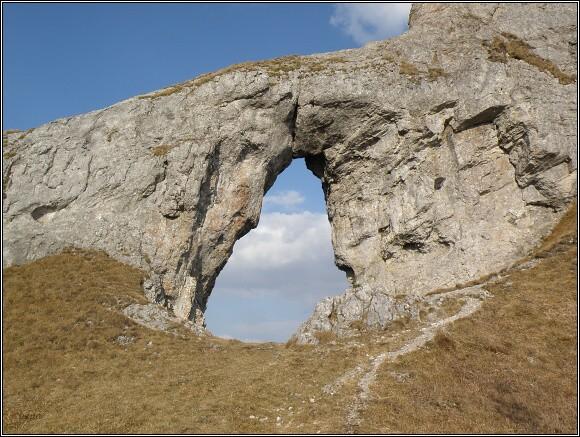 Nízké Tatry, Ohnište. Skalní brána