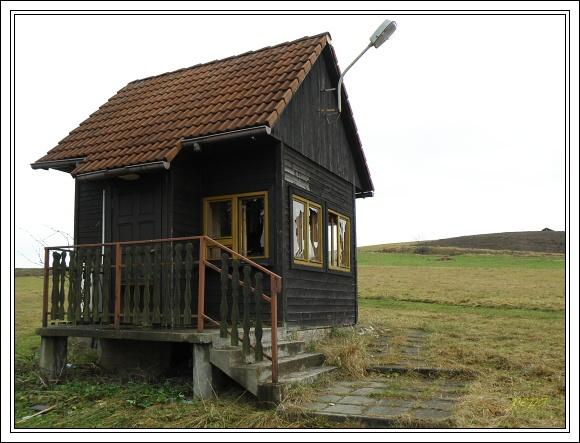 Předschengenský hraniční přechod Jaworzynka Łupienie - Hrčava