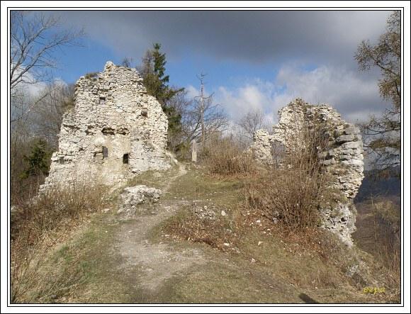 Zřícenina hradu Zniev