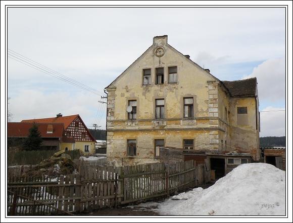 Chebsko. Obec Polná