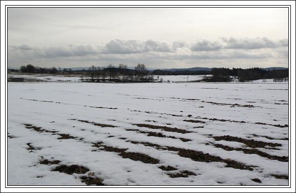 Krajina Chebska od obce Polná