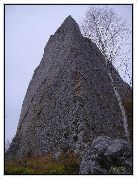 Muránsky hrad. Protiturecká bašta