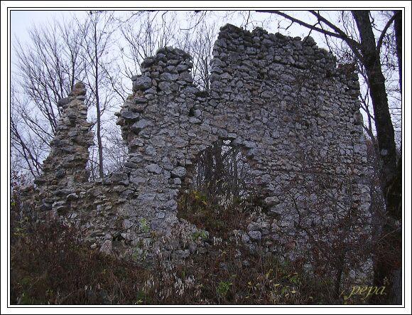Muránsky hrad. Budova velitele