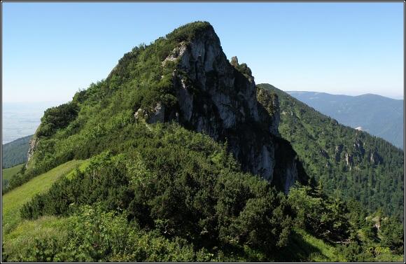 Kriváňska Fatra. Biele skaly a Suchý vrch