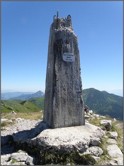 Kriváňska Fatra. Futuristický obelisk na Malém Kriváni