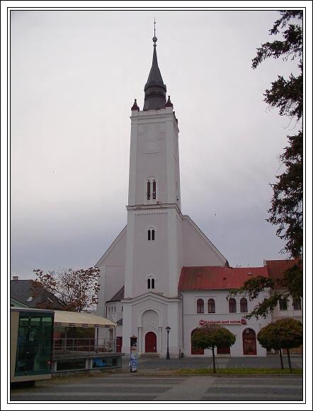 Rimavská Sobota. Klasicistní kostel