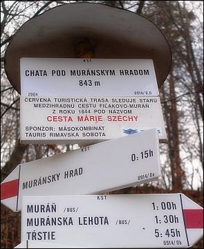 Cesta Marie Szechy