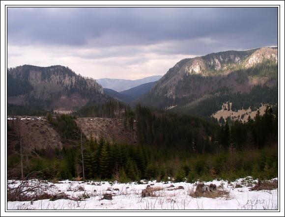Muránska planina. Malá a Velká Stožka