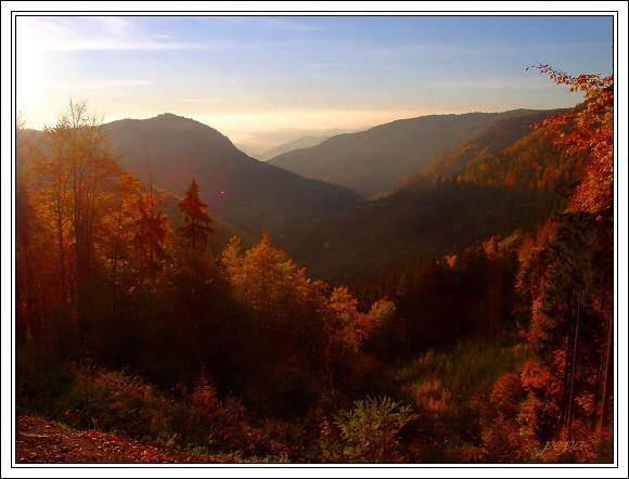 Muránska planina. Hrdzavá dolina