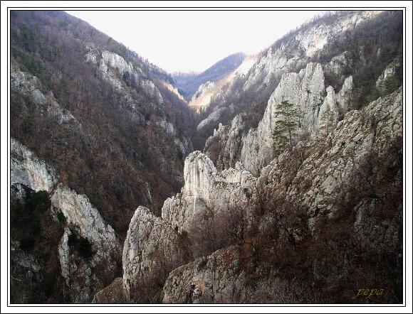 Slovenský kras. Zádielská dolina