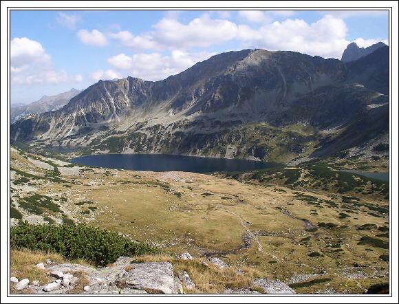 Vysoké Tatry. Dolina pěti polských ples