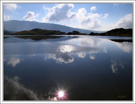 Retezat. Jezero Zanoaga