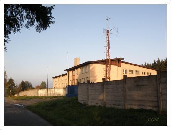 Budova bývalé 1.roty Pohraniční stráže u Trojmezí