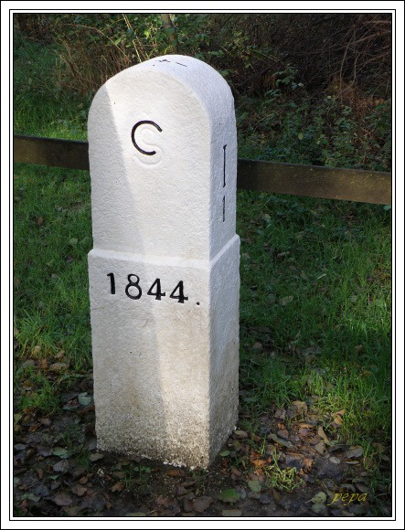 Historický mezník I/1 z roku 1844