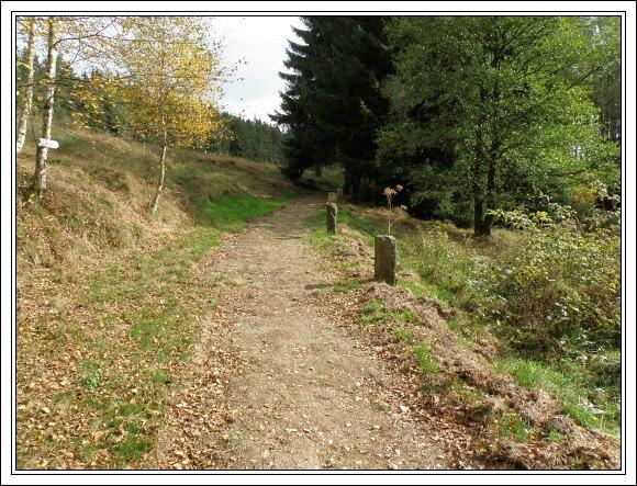 Bývalá cesta z Újezdu do Rehau