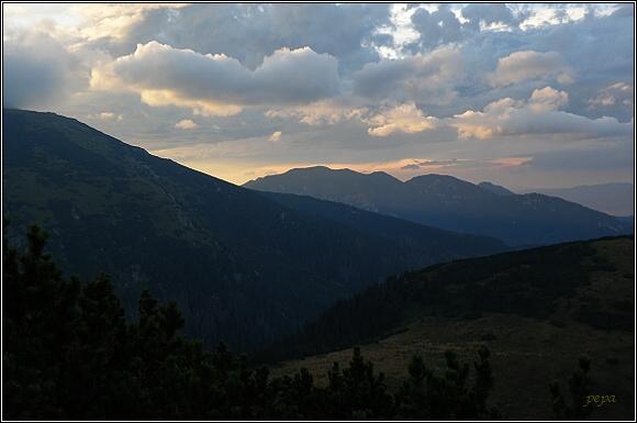 Nízké Tatry. Ďumbier a Krakova hoľa