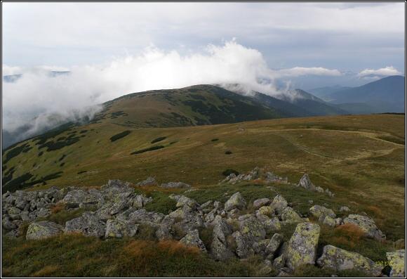 Nízké Tatry. Zámostská hoľa